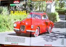 Article papier 6 pages Voiture FIAT 500A BERLINETTE MAESTRI décembre 2008  GA