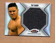 2012 Finest UFC Jumbo Fight Mat Relics #FFJMPB Pat Barry