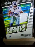 Amari Cooper 2020 Absolute Burners Jersey Patch Dallas Cowboys #14