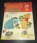 Vintage Coloring Book Walt Disney EEYORE'S ADVENTURES Winnie The Pooh Paper Doll