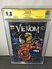 Venom #6 CGC Scorpion Comics 9.8 SS Signed Todd McFarlane