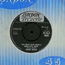 "BOBBY DARIN~YOU MUST HAVE BEEN A BEAUTIFUL BABY~45-HLK 9429~7"" UK SINGLE"