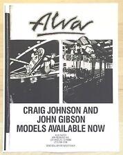 Alva John Gibson Craig Johnson Skateboard Ad 80'S Art Mini Poster Texas