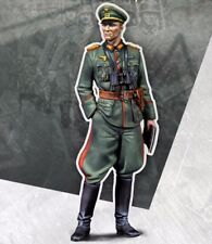 █ 1/35 Resin WWII German General Officer Unpainted BL073