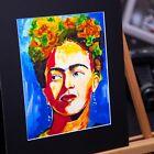 Frida Kahlo - Unique Portrait Interpretation - 3D Effect - Mexican Proud