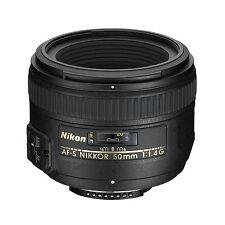 Nikon AF-S 50mm f1.4G Lens w/FREE Hoya NXT UV Filter *NEW*