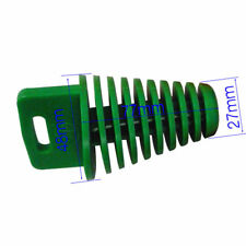 27mm-48mm Green Muffler Exhaust Pipe Wash Plug Motor ATV Quad Dirt Pit Bike