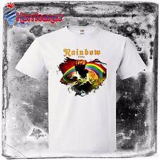 RAINBOW Rising UK Hard Rock Heavy Metal band new Mens T-shirt S to 4XLT