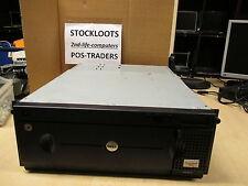 Dell 132T PV-132T Tape Library Rack 65JML41 + 2x LTO3 IBM 24R2126