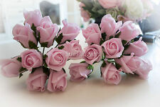 Wedding Flowers 20 Pink Foam Roses Great for Bouquets etc