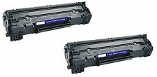 2pk Hp Cf283a Toner Cartridge For Laserjet Pro Mfp M127fw M127fn