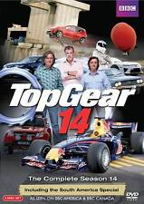 3 DVD BBC Top Gear Complete Season 14: Jeremy Clarkson Richard Hammond James May