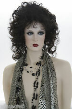 Long Wavy Layered Curls Blonde Grey Brunette Red Wigs Fall Below the Shoulder