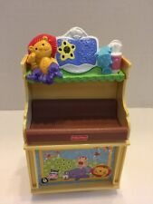 Fisher Price Loving Family Dollhouse Baby Nursery Musical Changing Table Lights
