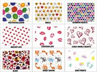 "SPECIAL OCCASION Print Tissue Paper Sheets 15"" x 20"" Choose Print & Pack Amount"
