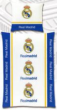 Fußball Bettwäsche Real Madrid - 135x 200cm + 80x 80cm - 100% Baumwolle Renforcé