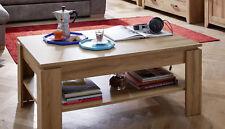 Couchtisch Wohnzimmer Tisch Eiche Alteiche 110 cm Sofatisch Beistelltisch Canyon