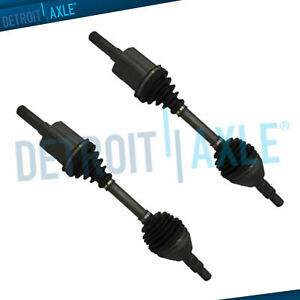 BuyAutoParts 90-908612D New For Buick LaCrosse 2010 2011 2012 Pair Front CV Axle Shaft