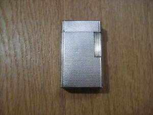 S.T Dupont Feuerzeug Lighter Silber Linie 1 Komplett Überholt