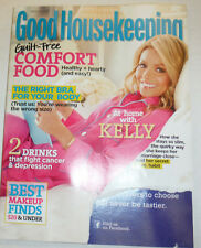 Good Housekeeping Magazine Comfort Food Kelly Ripa March 2012 041015R