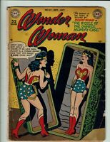 WONDER WOMAN 37 DC 1949 CLASSIC GOLDEN AGE BEAUTY RARE TO AUCTION LOW START!