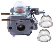 Carb Carburetor w Primer Bulb, MTD Craftsman 25cc Troy-Bilt TB-32EC Murray M2510