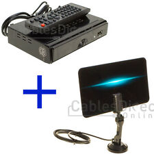 Digital Indoor Kit Set Flat TV Antenna HDTV DTV Signal Booster HD VHF UHF