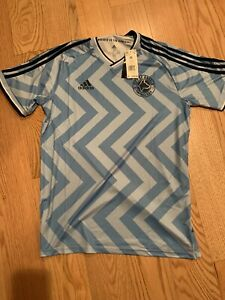 Adidas City Of Angels FC Jersey Sz M BNwT GG1131 Rare Blue Soccer