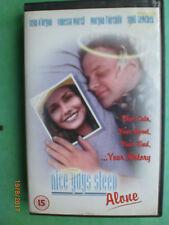 NICE GUYS SLEEP ALONE  (MORGAN FAIRCHILD)  -    BIG BOX ORIGINAL  RARE & DELETED