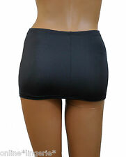 "Mini Micro Skirt Stretch Dark School Grey Charcoal 10"" Short Clubwear Party CS23"