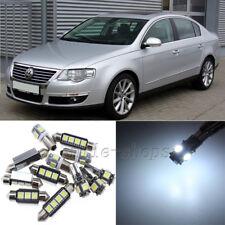 Error Free White 17pcs Interior LED Light Kit for 2006-2010 VW Passat B6 CC