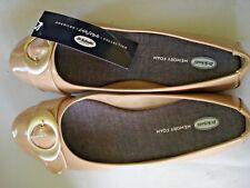 Ladies Shoes Nude Buckle Design  Size 11 M Dr. Scholls