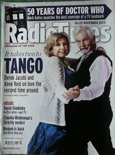 Radio Times 16 - 22 Nov 2013. Doctor Who and Last Tango in Halifax.