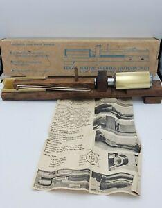 VINTAGE Texas Native Inertia Nutcracker Model 7141 w/ Original Box & Directions