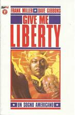 GIVE ME LIBERTY UN SOGNO AMERICANO FRANK MILLER DAVE GIBBONS MAGIC PRESS NUOVO