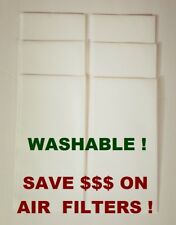 6 Washable Prefilter Cloths For Regula Air Filters, Your Filter Will Last Longer