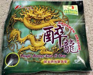 2x Palio Drunken Dragon Pips-In Rubber/Sponge Near Table Attack / Loop Drive USD