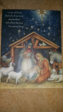 Susan Winget Holy Family Christmas cards - New in original box - by Lang 2013