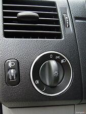VW Crafter 2E 2F Aluring Alu Lichtschalter R-LINE KASTEN KOMBI PRITSCHE
