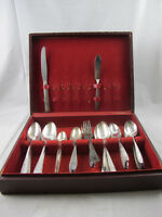 Vintage 1950s WM Rogers Son AA Community Silver Plate Special Sectional 51 Piece