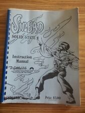 1977 Sinbad Solid State Instruction Manual