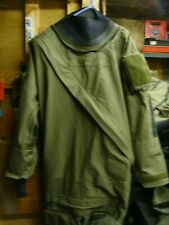 typhoon gore-tex immersion suit olive green very good condition medium GOOD CON