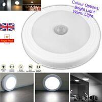 LED Motion Sensor Lights PIR Wireless Night Light Battery Cabinet Stair Lamp UK