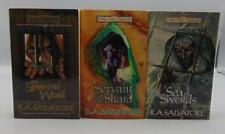 Paths of Darkness Book 2 3 4 Series Paperback R.A. Salvatore Forgotten Realms