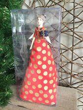 Gisela Graham Fashion Fairy tree top Christmas fairy angel 28.5cm RRP £23.95