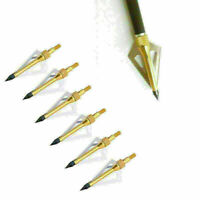10 or 50 Pack of PMP Black Australian Arrow Heads in 100,125,150 and 200 Grain