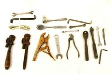 Lot of Small Tools Wrench Pliers Alan Key Mixed Tool Lot