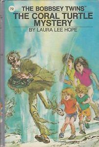 The Bobbsey Twins The Coral Turtle Mystery 1979 Grosset and Dunlap Hardcover