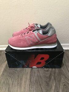 new balance 574 bege e rosa