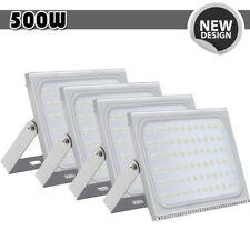 4x 500W Led Flood Light Cool White Outdoor Spotlight Garden Yard Lamp New Ip67